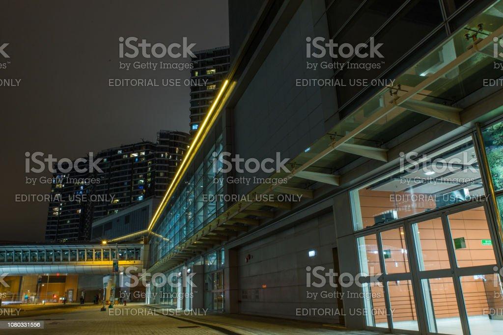 香港奧斯丁車站圖像檔
