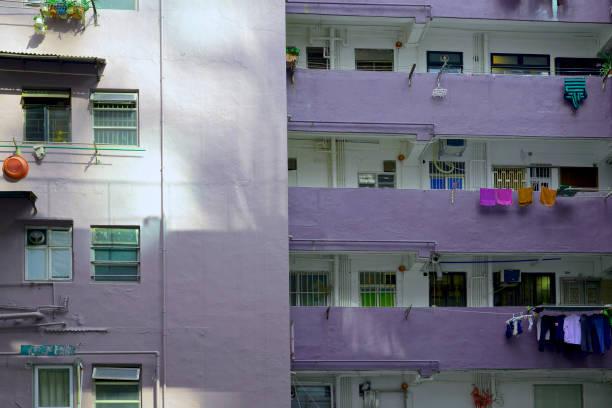 Hong Kong building stock photo