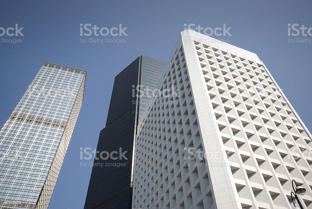 Hong Kong Gebäude Lizenzfreies stock-foto