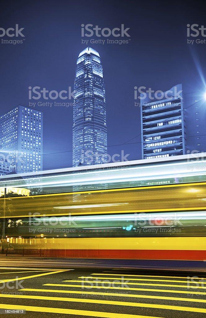 Hong Kong Business District royalty-free stock photo