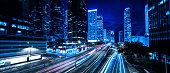 Hong Kong, China - East Asia, Blue, Night, 5G