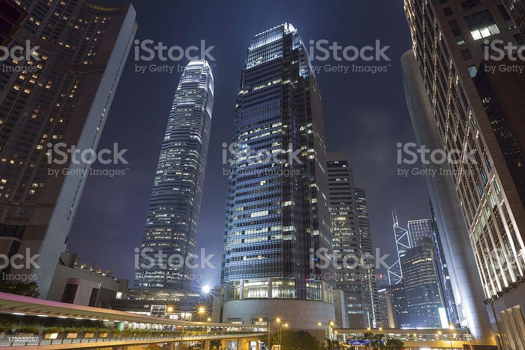 Hong Kong Central District stock photo