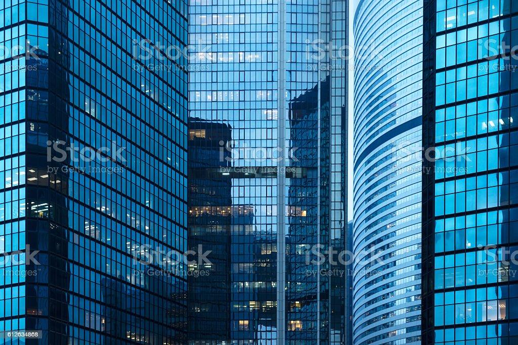 hong kong central district foto de stock libre de derechos