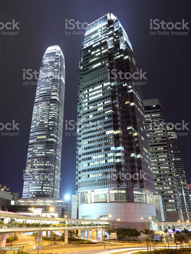 Hong Kong Central royalty-free stock photo