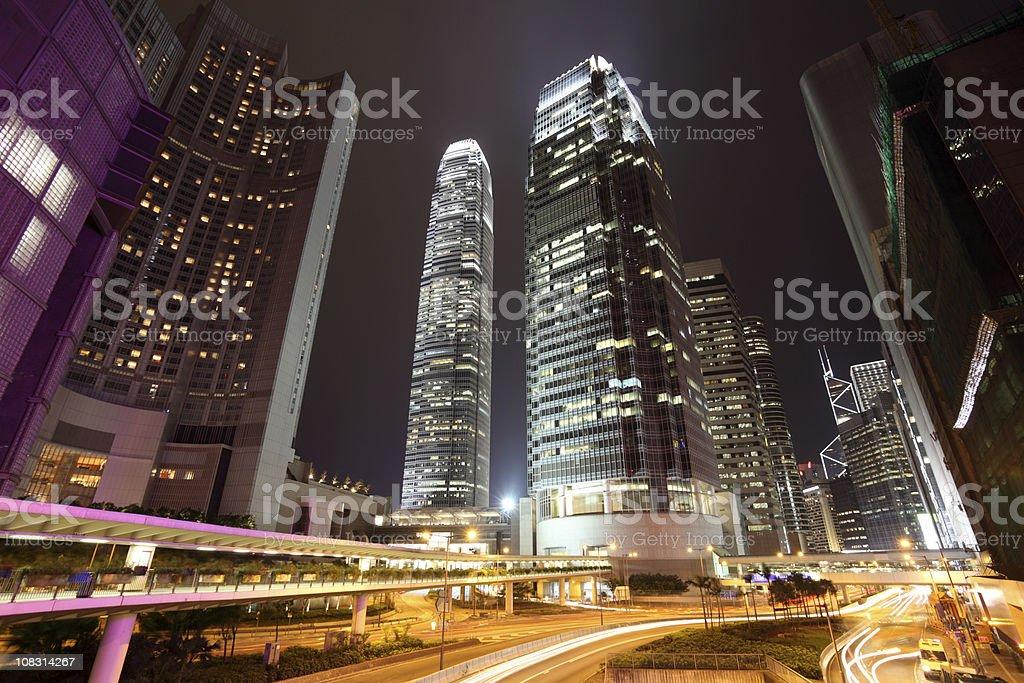 Hong Kong Central stock photo