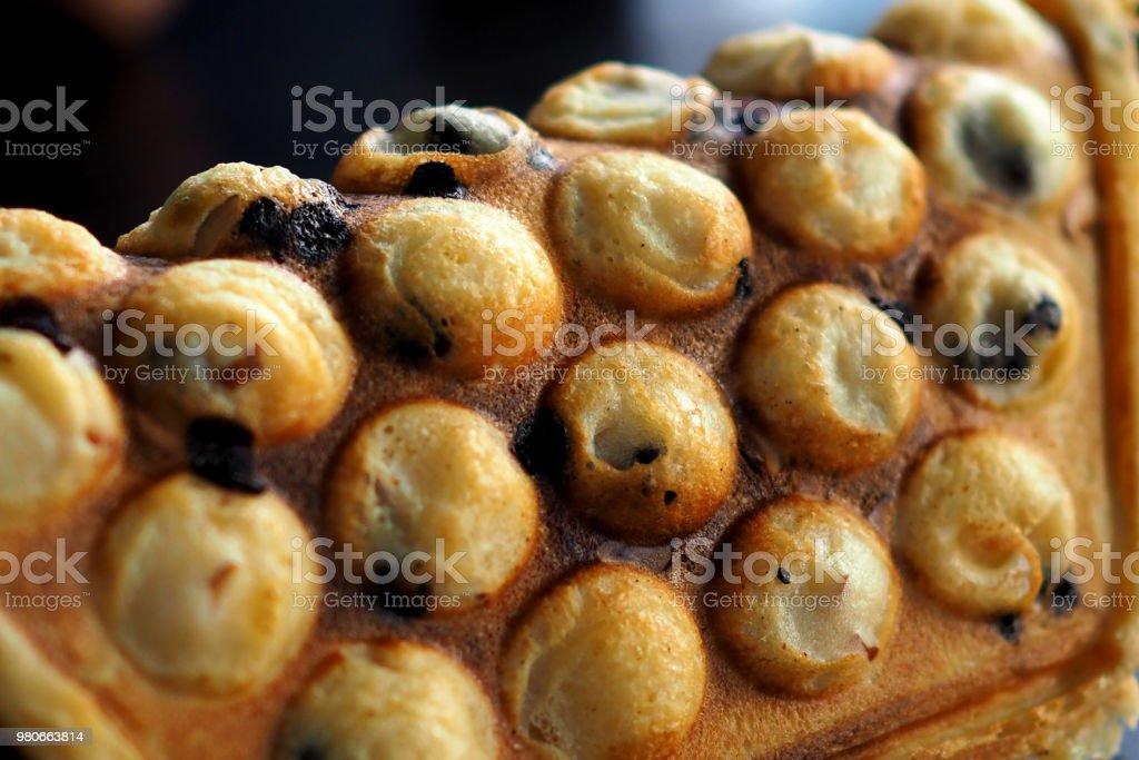 Hong Kong chocolate waffle – zdjęcie