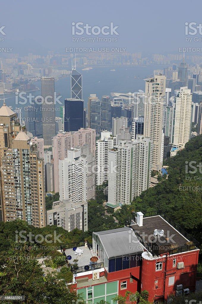 Hong Kong City royalty-free stock photo