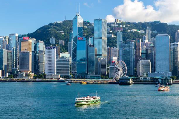 hong kong stadsbild - hongkong bildbanksfoton och bilder