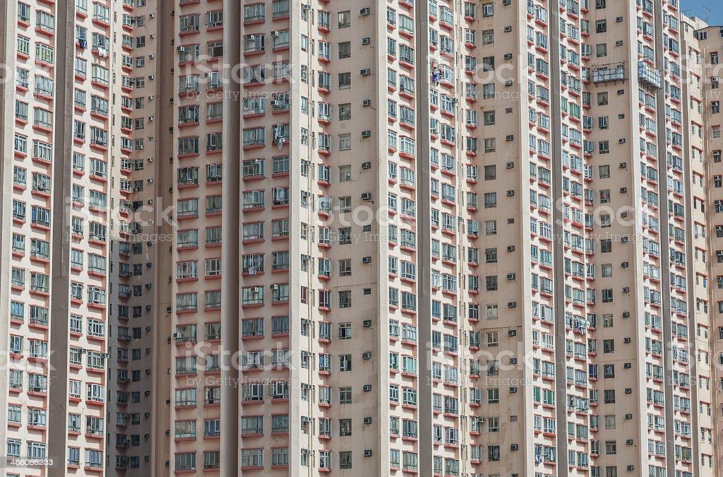 Hong Kong Cityscape royalty-free stock photo