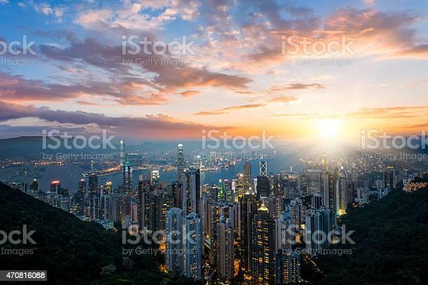 Photo of Hong Kong Cityscape