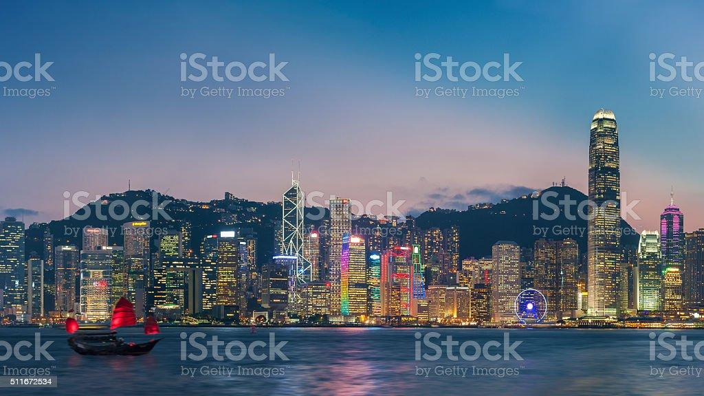 Hong Kong Cityscape – Foto