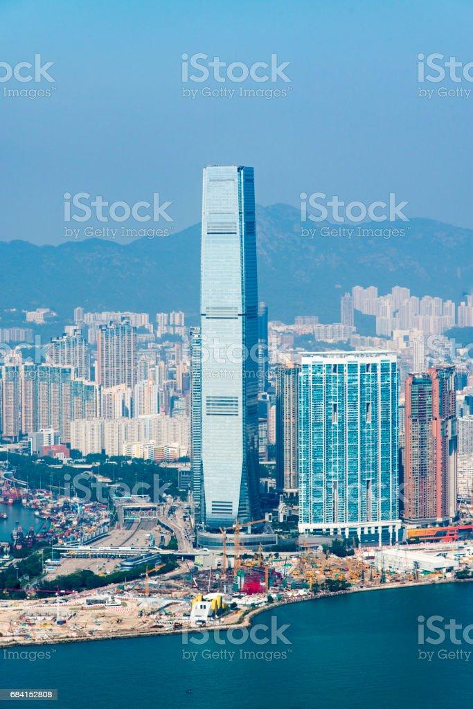 Hong Kong Cityscape royalty free stockfoto