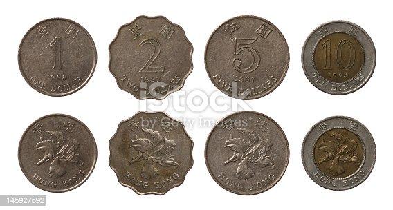 istock Hong Kong Coins 145927592