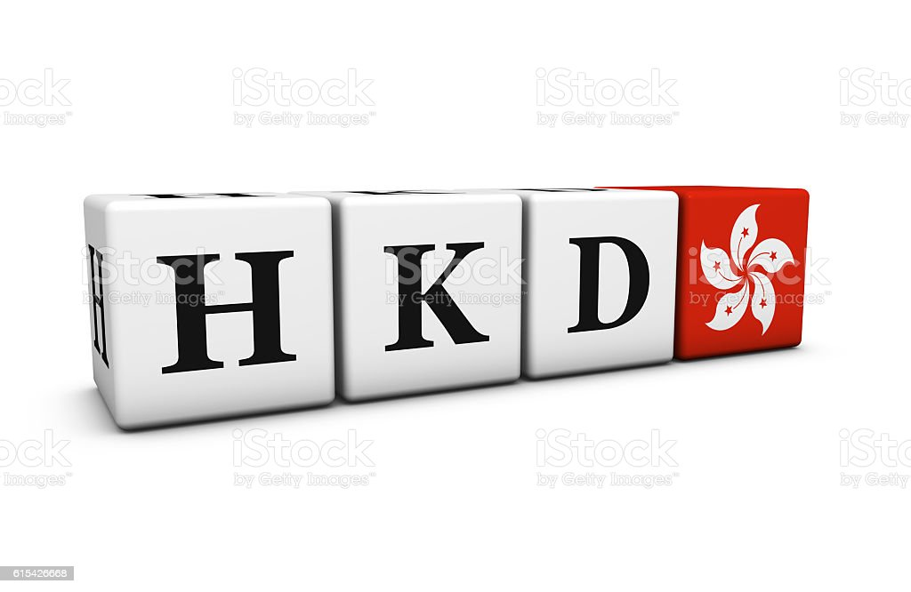 Hkd Hong Kong Dollar Currency Code Stock Photo More Pictures Of