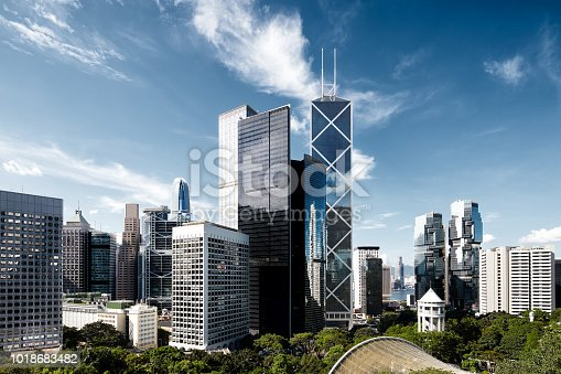 Hong Kong, Cityscape, Urban Skyline, China - East Asia, Skyscraper