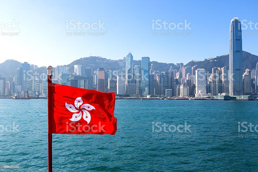 Flagge von Hongkong  – Foto