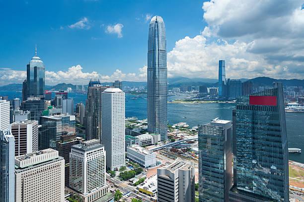 Hong Kong Harbor - foto de stock