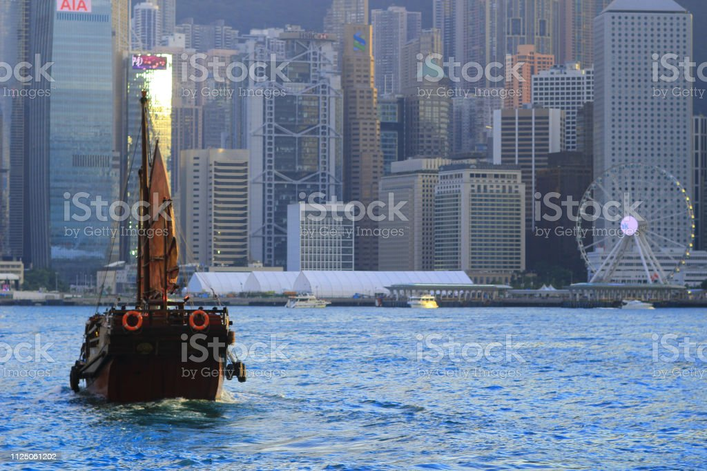 香港海港有旅遊垃圾圖像檔