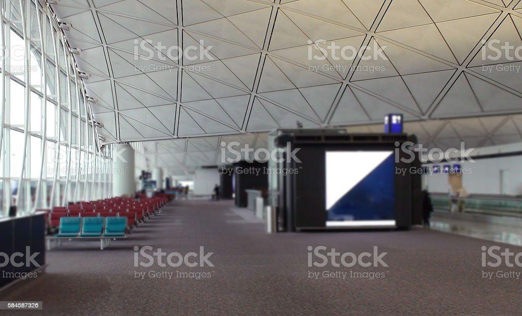 Hong Kong International Airport Lounge - foto de acervo