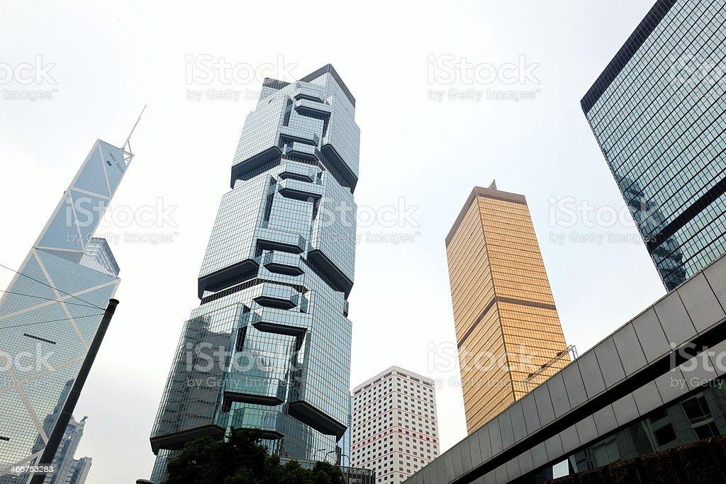 Hong Kong Island Centre, China stock photo
