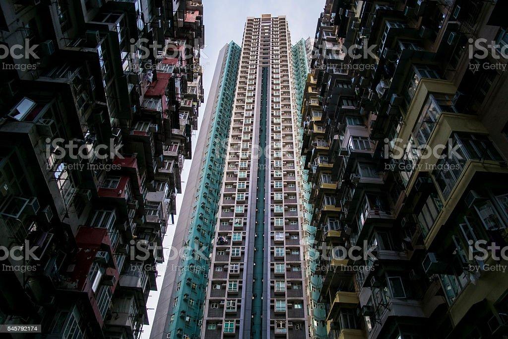 Hong Kong living stock photo