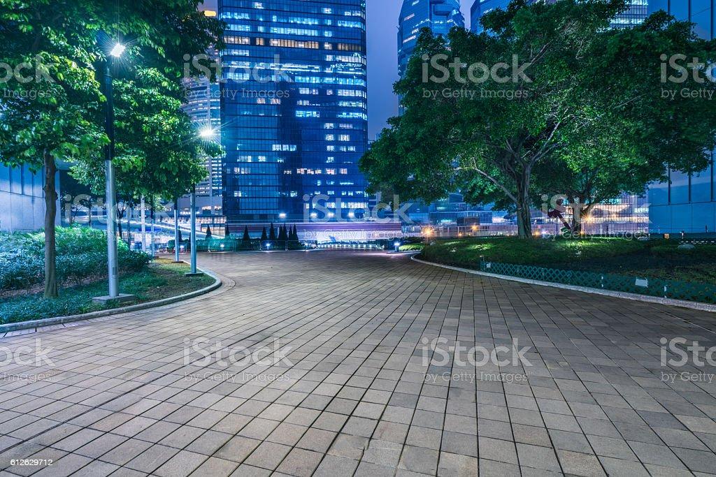 hong kong night scene – Foto