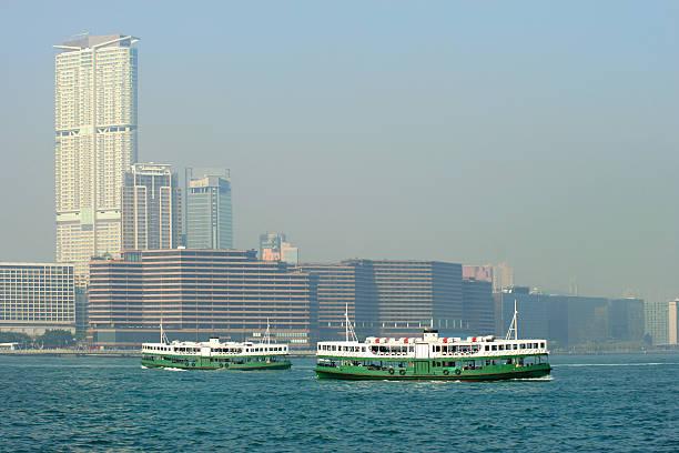 hong kong - versandrolle stock-fotos und bilder