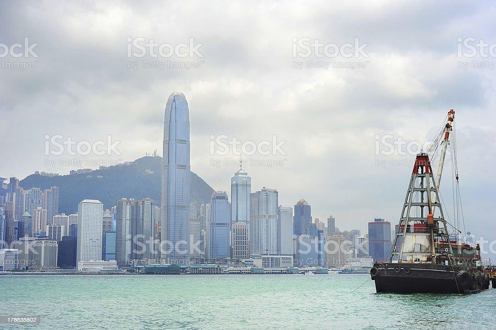 Hong Kong - foto de acervo