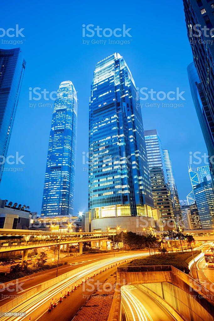 IFC, Hong Kong stock photo