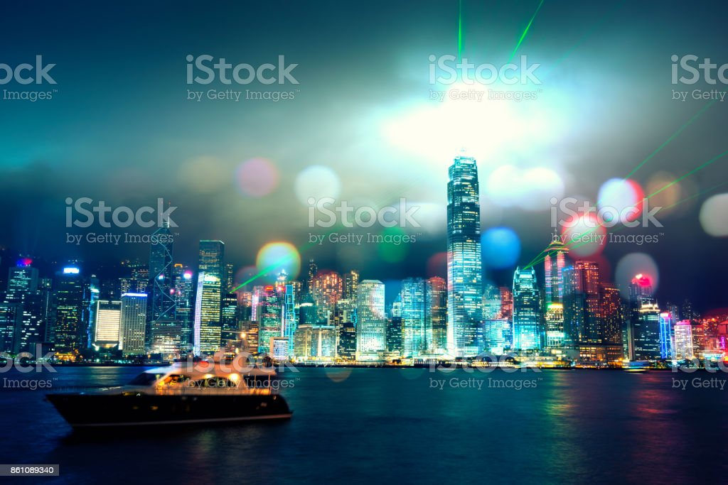 hongkong stock photo