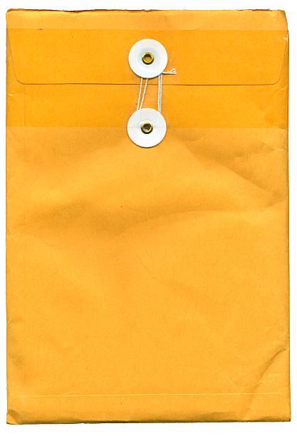 Hong Kong postal envelope (XXL) stock photo