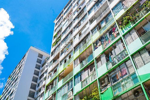 Sai Wan Estate in Hong Kong