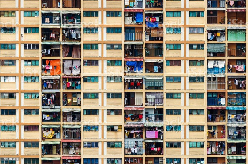 Bâtiment résidentiel de Hong Kong photo libre de droits