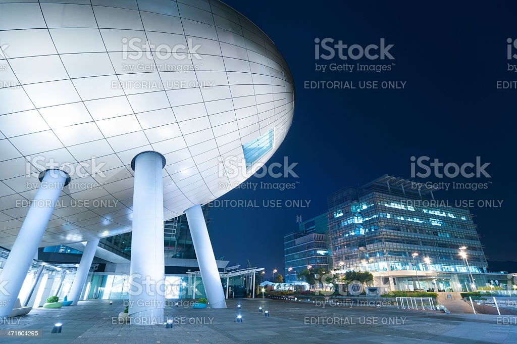 Hong Kong Science and Technology Parks royalty-free stock photo