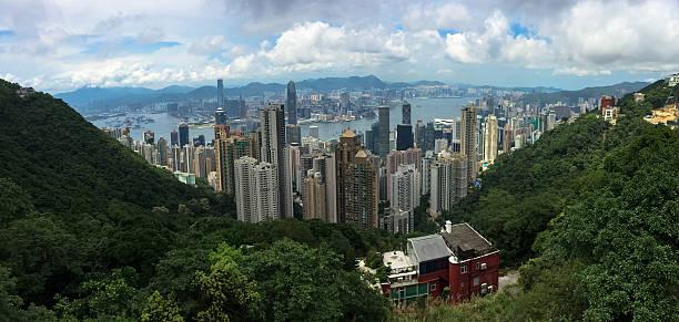 Hong Kong skyline cityscape foto