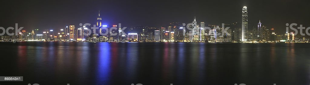 Hong Kong - Skyline royalty-free stock photo