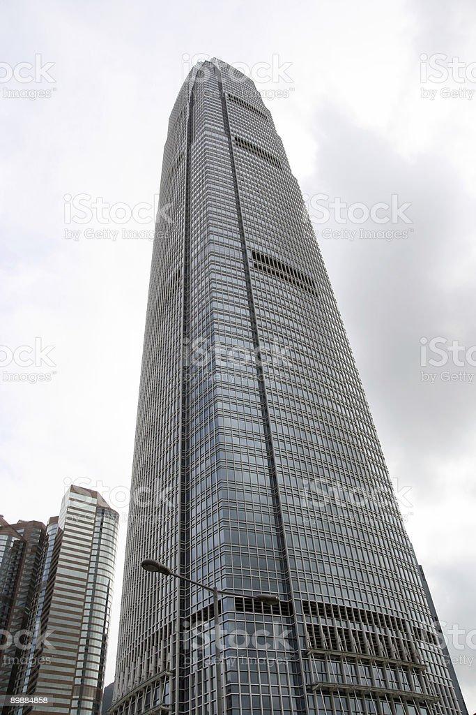Гонконга Skyline Стоковые фото Стоковая фотография