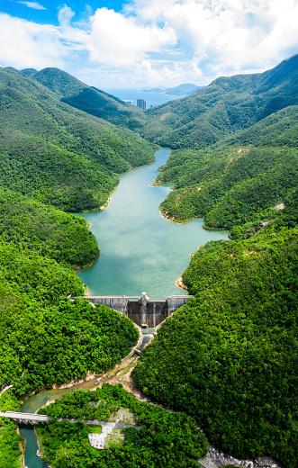 Hong Kong Tai Tam reservoir