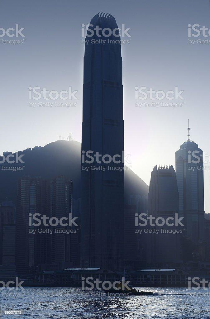 Hong Kong Tower royalty-free stock photo