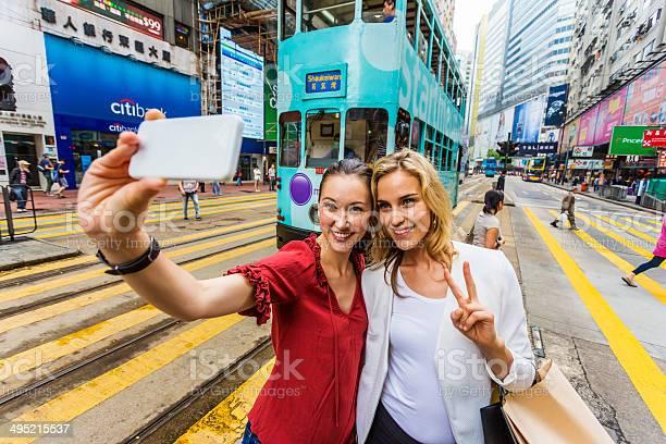 Hong kong tram selfie women picture id495215537?b=1&k=6&m=495215537&s=612x612&h=00prrn x08hnuxlvvxuvvqkd bqgh5ohy8du5asowsk=