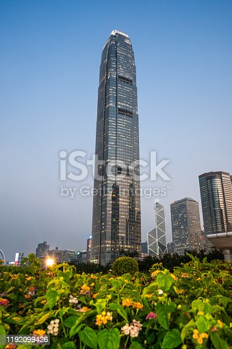 Asia, China - East Asia, Hong Kong, Architecture, Backgrounds