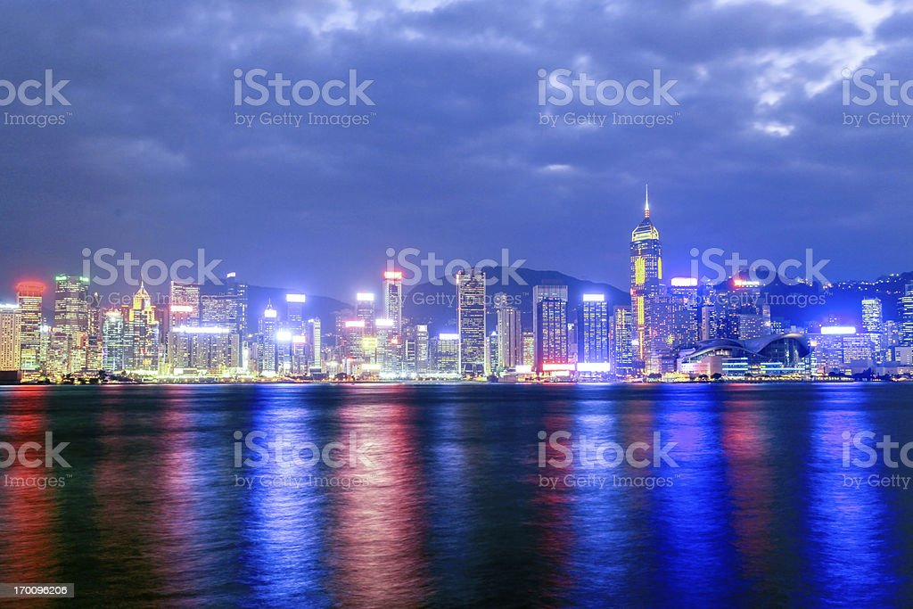 Hong Kong Victoria Harbour, China royalty-free stock photo
