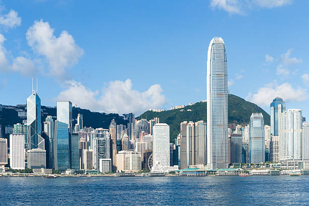 Hong Kong view from Victoria Harbour - Photo