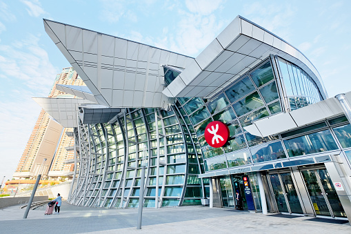 Hong Kong West Kowloon Station Stock Photo - Download Image Now