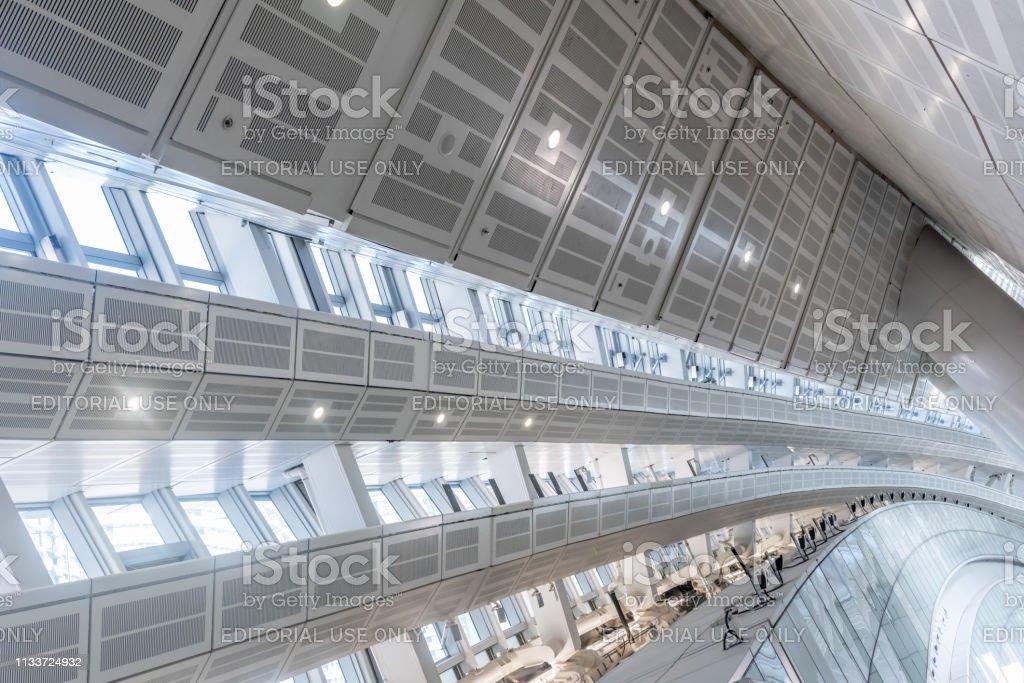 Hong Kong West Kowloon Station stock photo
