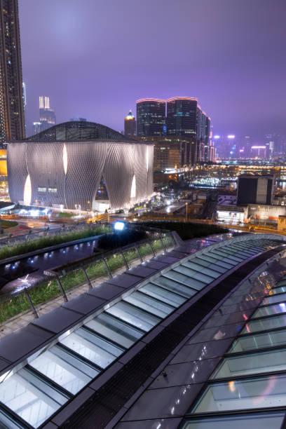 香港西九龍站圖像檔