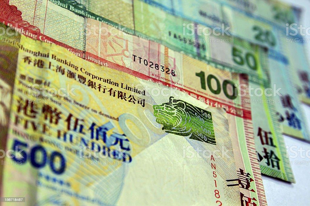 Hongkong Money royalty-free stock photo
