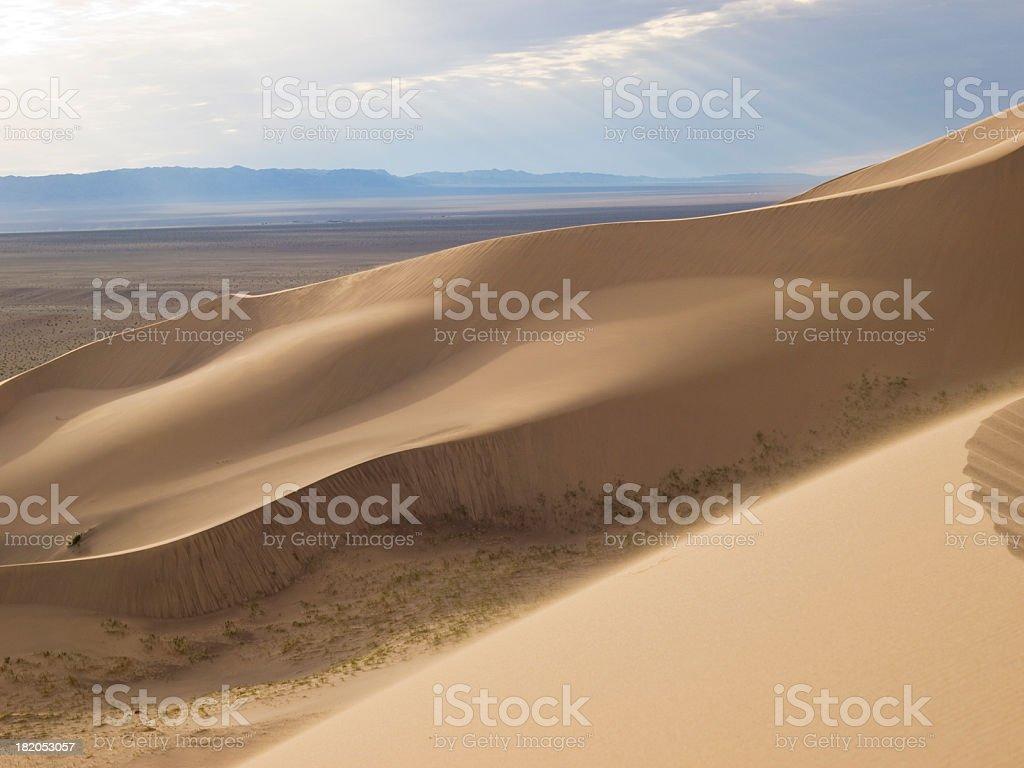 Hongor Dunes royalty-free stock photo
