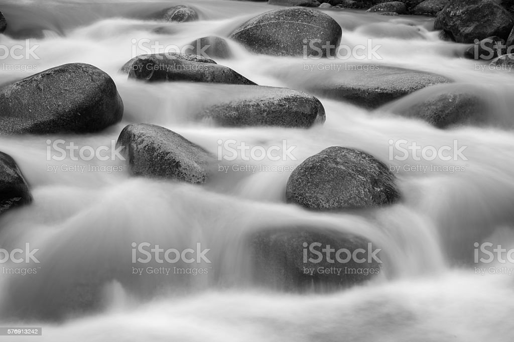 hongxi river  in the primeval forest,lingui,guilin,china stock photo