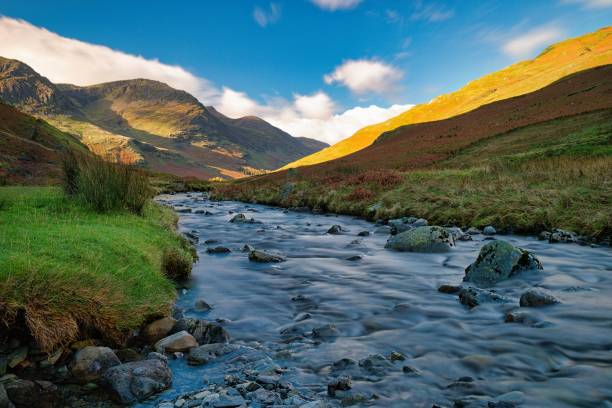 Honister Pass, UK Lake District stock photo
